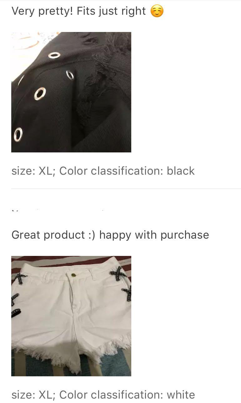 Preorder korean style new high waist denim shorts female summer