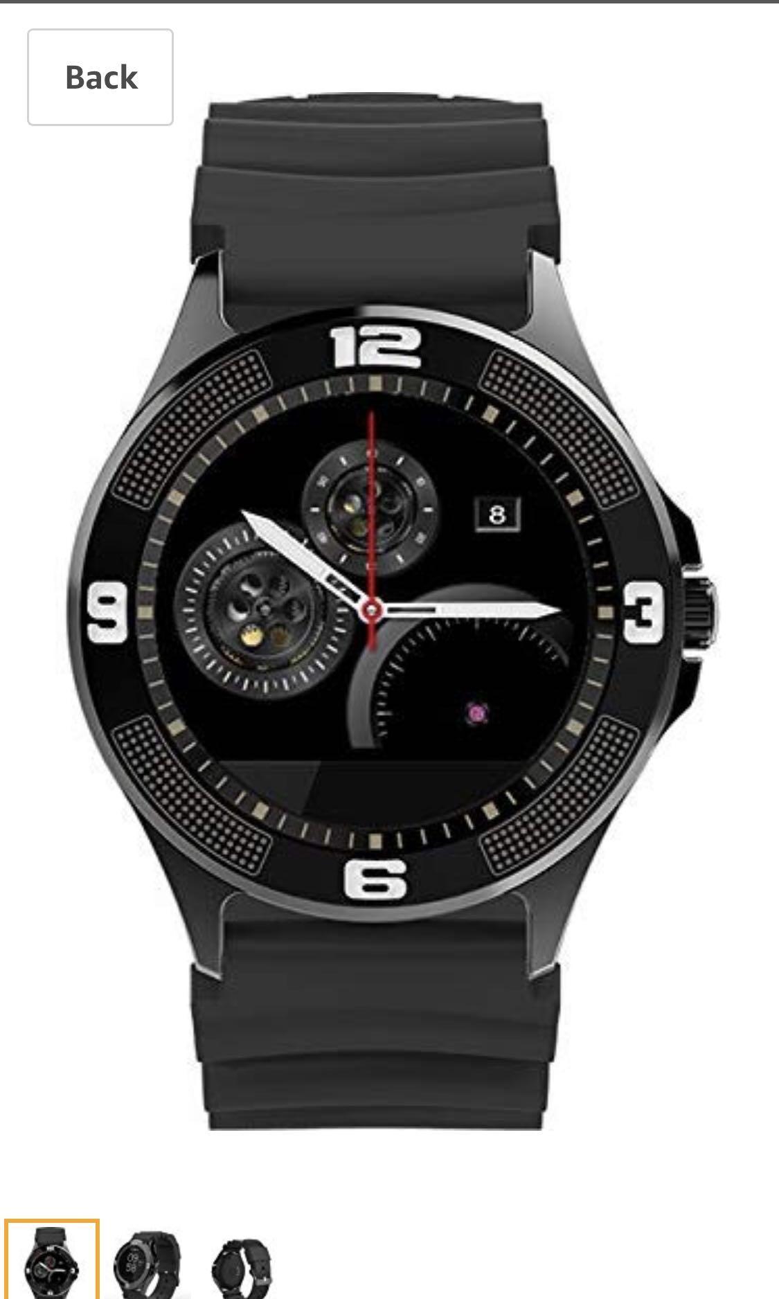PRIXTON smart watch SW14 - phone call bluetooth heart rate sleep monitor