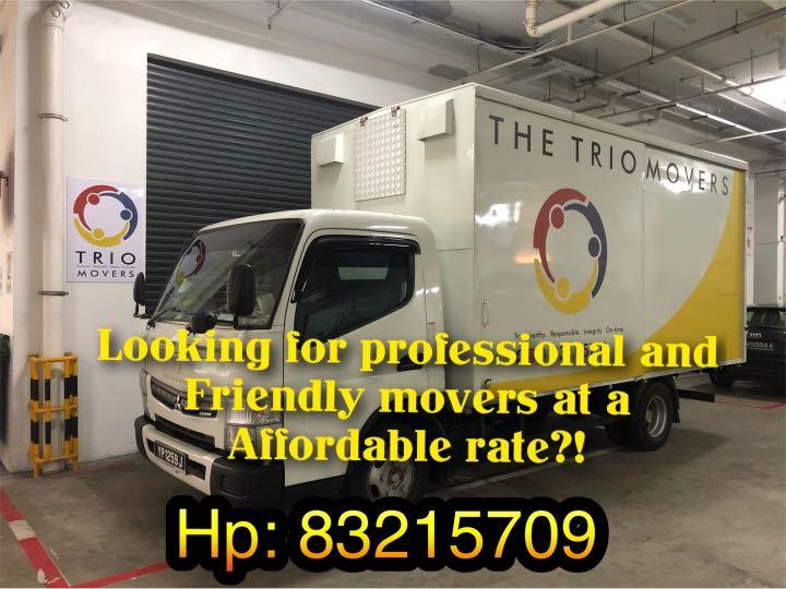 Professional, friendly, reasonable rate and 100% positive review rate moving company