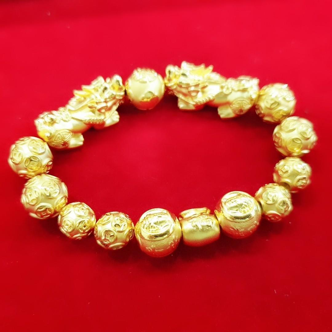 Pure 999 Gold Pixiu Bracelet