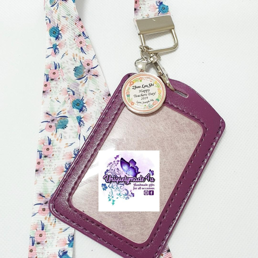 Teacher's Day Personalized lanyards 6 Sets
