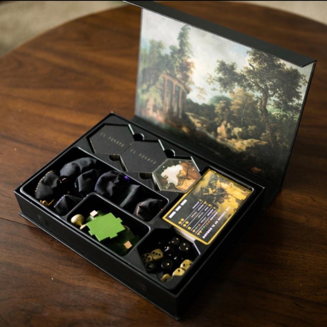 The Island of El Dorado Board Game 2nd Edition + Expansion