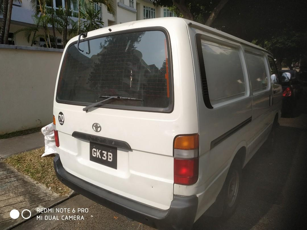 Toyota Hiace Manual Dissel With Nice Single Number For Lease
