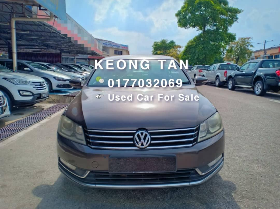 🚘VOLKSWAGEN PASSAT 1.8AT TSI 2012TH TURBO FULL SPEC Cash OfferPrice💲Rm41,800 Only‼ Lowest Price InJB 📲Call Keong For More‼🤗