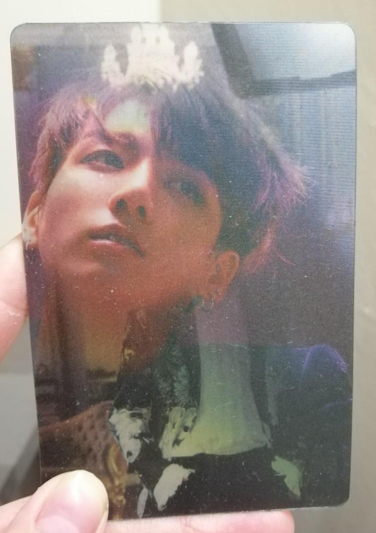 [WTS] BTS Jungkook Wings Concept Unofficial Photocard PC
