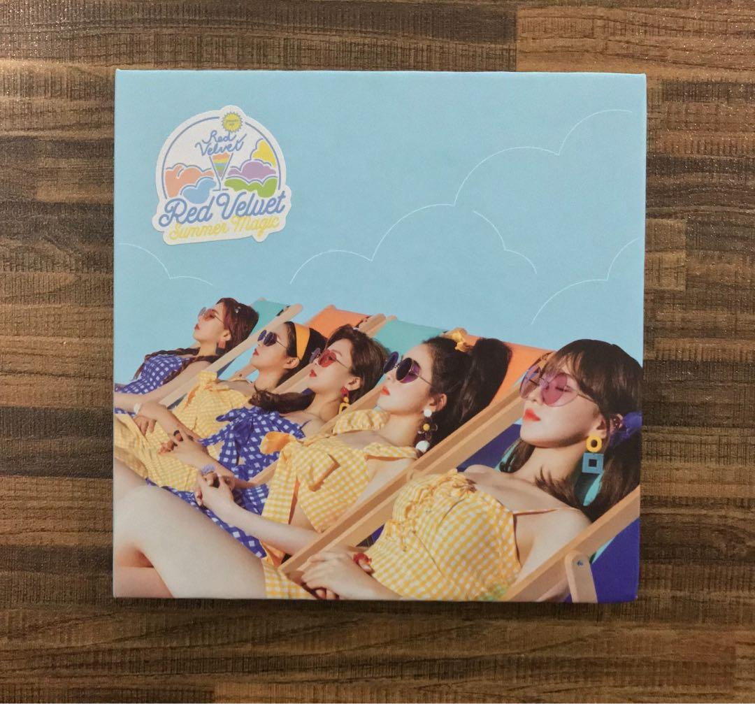 [WTS] Red Velvet 'Summer Magic' Summer Mini-Album {Standard Edition Version} [Unsealed]
