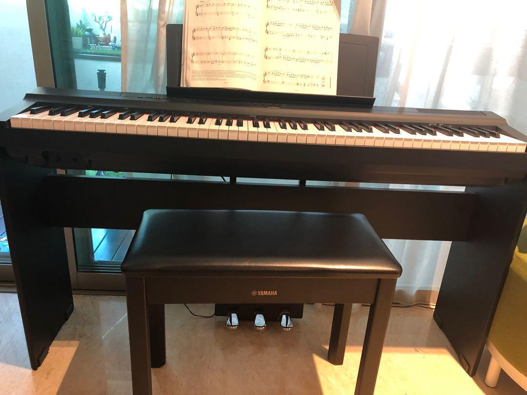 Yamaha digital piano p-125
