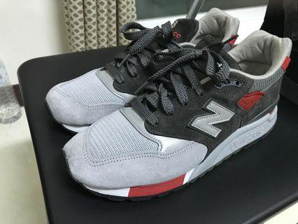 new balance 998 m998cpl us8.5 裸鞋