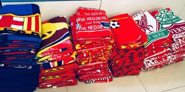 Liverpool, Arsenal, Chelsea, Barcelona & Man U Towels