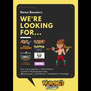 Hiring Game Boosters by WukongJourney.com