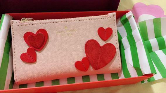 Brand new kate spade heart wallet