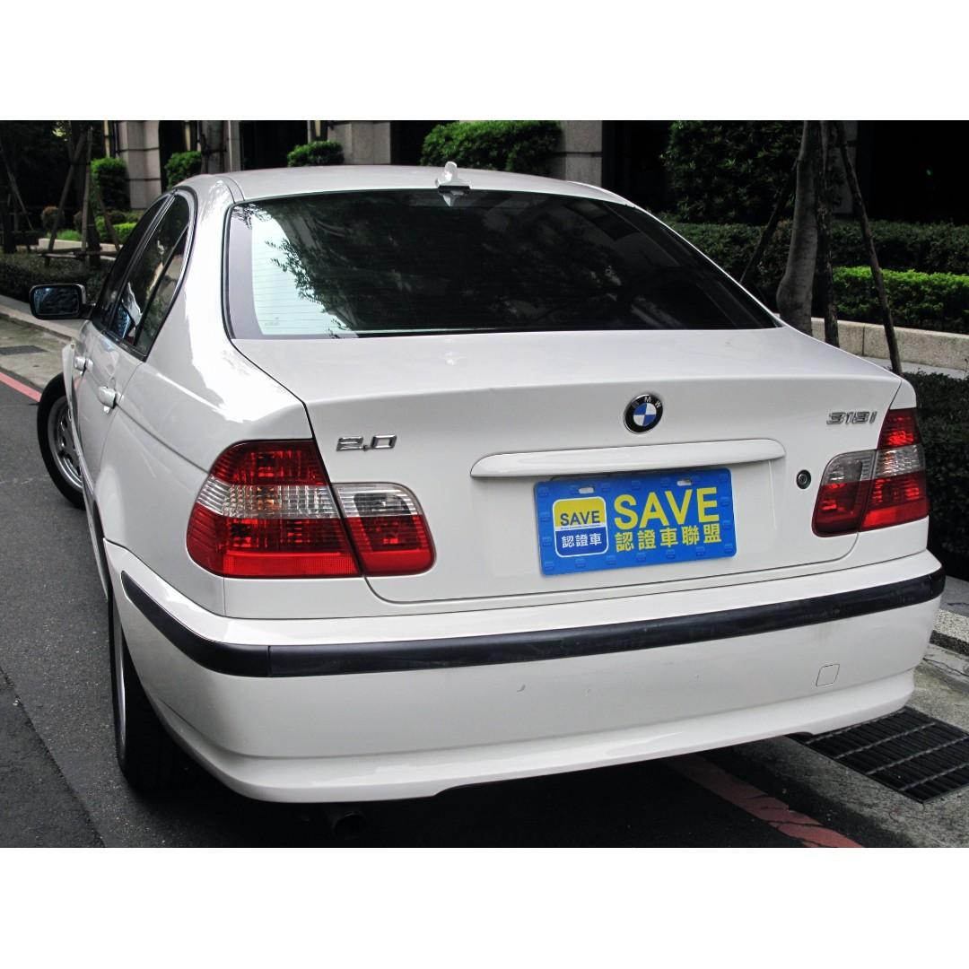 03年BMW 318I E46 經典之作 全車原鈑件 有如凍齡般的外觀與內裝 是時候要完成自己年輕時的夢了吧