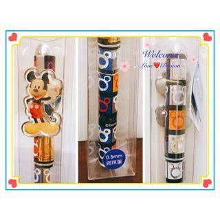 【迪士尼Disney】米奇質感鋼珠水性筆0.5mm 筆蓋 米妮 中性 文具