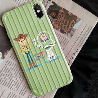 Toys story soft case for iphone 7+/8+