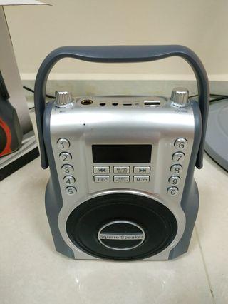 Bluetooth speaker cum FM radio music player