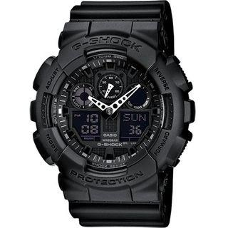 Authentic - GA-100-1A1ER  G-Shock GShock Men /Women /Unisex Watch