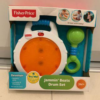 Fisher Price Jammin Beats Drum Set