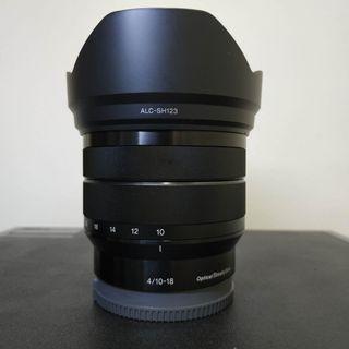 Sony 10-18mm f4 oss