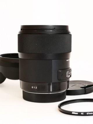 Sigma 35mm F/1.4 Art (Canon Mount)