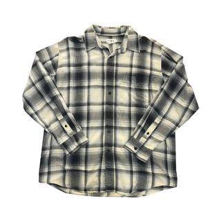 古著 J. Crew 法蘭絨格紋襯衫 西岸 美式