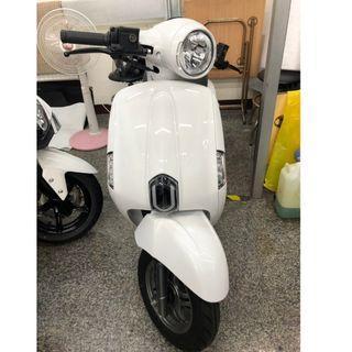 【正鼎機車行-亭羽】KYMCO光陽 MANY 125 ABS版 白色 201902出廠 現金價70000元 可分期購車