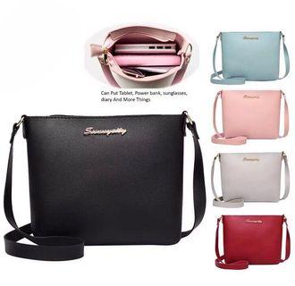 Korean Fashion Top Seller Premium PU Sling Bag Handbag