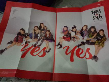 Twice Yes or Yes Big Poster