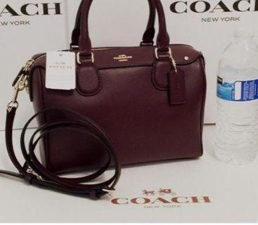 Coach mini Bennett satchel