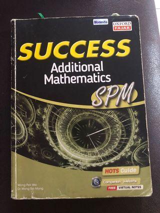 Success add Mathematics SPM