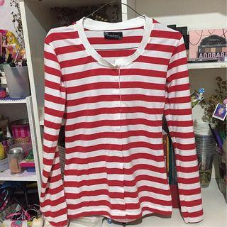top stripe red