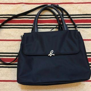 大降價 二手商品✖️agnes b. 經典logo 肩包 手提包