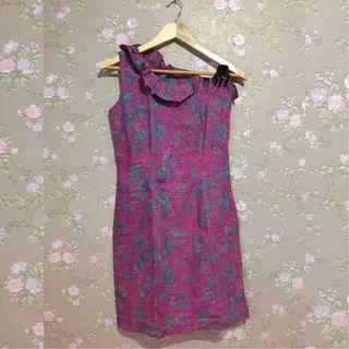 #joinagustus batik dress ungu