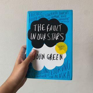 The Fault in Our Stars - John Green, Signed Copy