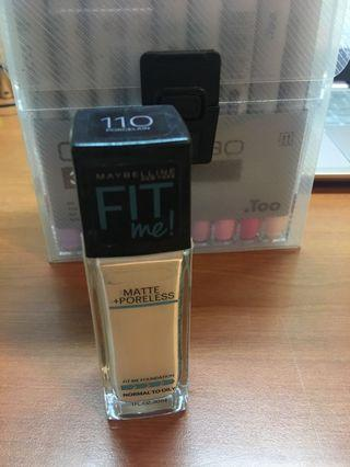 Maybelline fit me 110