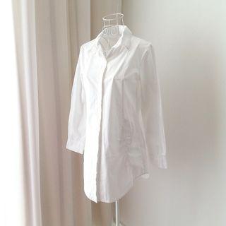 Boyfriend White Shirt Dress