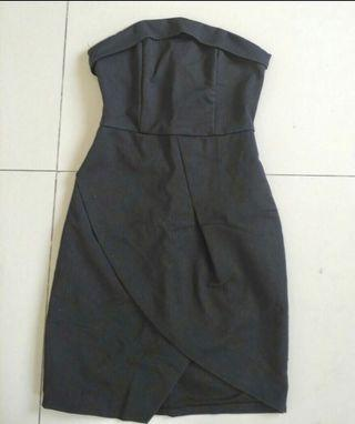 EDITOR'S MARKET black party dress kemben
