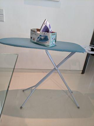 🚚 Iron and ironing board