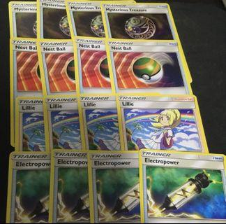 Pokemon staple cards