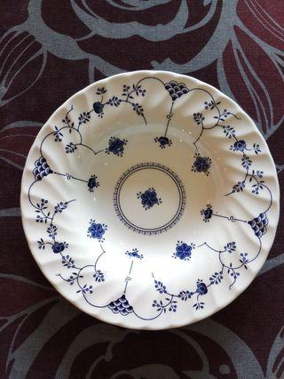 Vintage Blue & White Fine English Tableware
