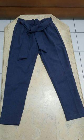 NEW navy pants,  NETT,  no COD