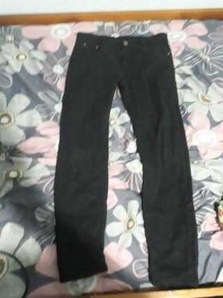 黑褲31腰