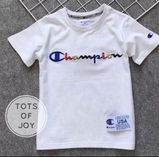 Champion Embroided Tee