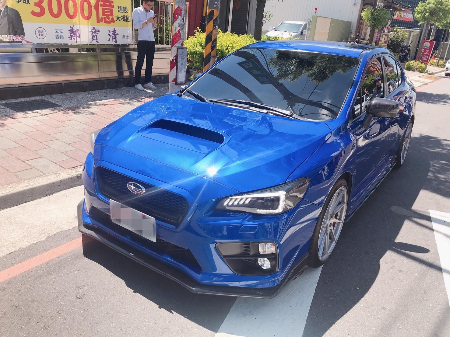 2017年 WRX 藍 2.0 跑7萬 熱門車中古車二手車