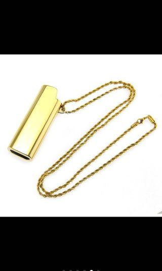 Ambush inspired lighter necklace holder
