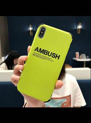 iPhone Casing Ambush
