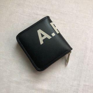 (全新)A.P.C.黑色皮夾