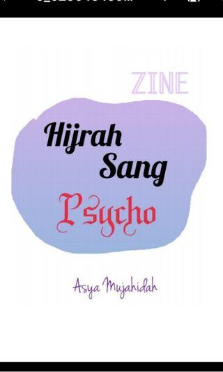 ZINE: Hijrah Sang Psycho (Malay Poetry) [ hard copy] | Self-publish book