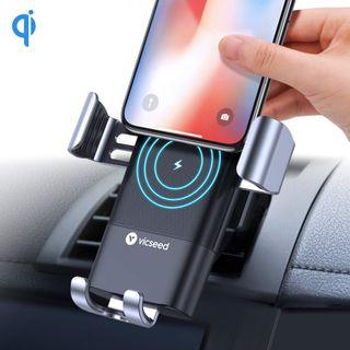 VICSEED Fast Wireless Charger Car Mount