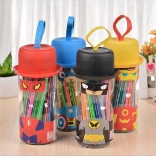 Suoer Hero Water Color Pens Set (Goodie Bags)