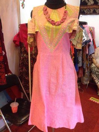 Cute dress batik